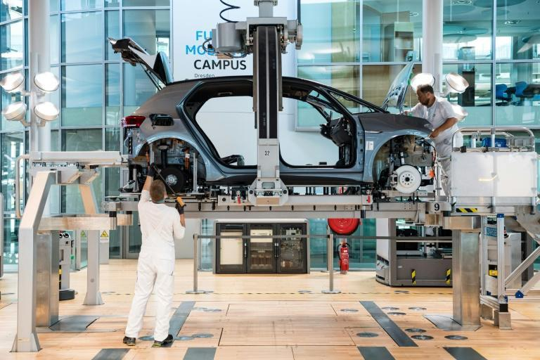 Volkswagen has earmarked 73 billion euros in investments and plans to create a global network of charging stations