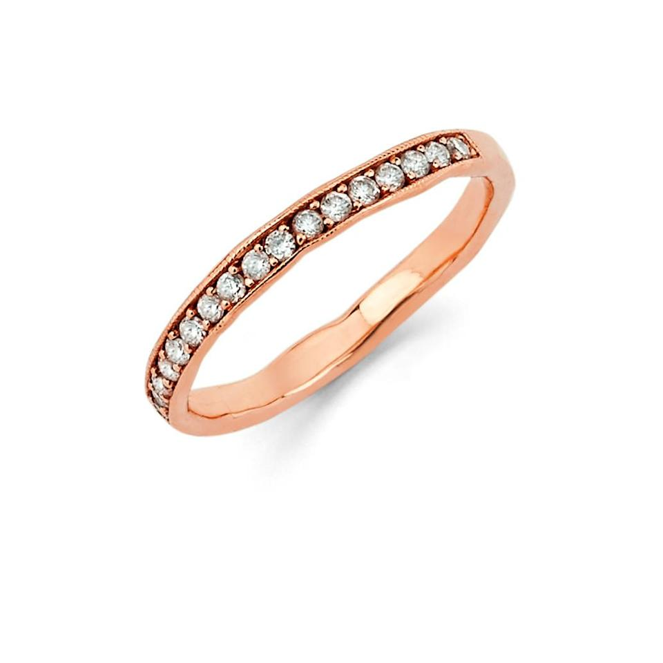 """<h2>A Diamond Ring</h2> <p>We've never understood why coupled gals get the monopoly on diamonds, nor do we subscribe to the thinking that gem-encrusted rings are reserved for those newly betrothed. If you're looking to spoil the single girl in your life, a little non-relationship-status-dependent bling will do so quite nicely.</p> <p><a href=""""http://www.loganhollowell.com/collections/earrings/products/diamond-channel-set-stacking-ring"""" rel=""""nofollow noopener"""" target=""""_blank"""" data-ylk=""""slk:Logan Howell Diamond Channel Set Stacking Ring"""" class=""""link rapid-noclick-resp"""">Logan Howell Diamond Channel Set Stacking Ring</a>, $1200</p> <h4>Logan Howell</h4>"""