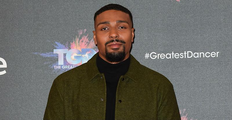 Jordan Banjo and girlfriend Naomi Courts have welcomed a daughter (Photo by Tabatha Fireman/Getty Images)