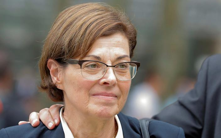 Nancy Salzman admitted in court that she had lost her way as head of the NXIVM self-help group. It has been alleged that she stole details of the groups critics. - REUTERS