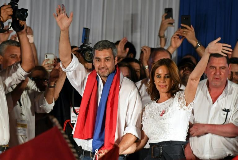 Paraguay's Mario Abdo Benitez of the ruling conservative Colorado party won the vote by a narrow margin