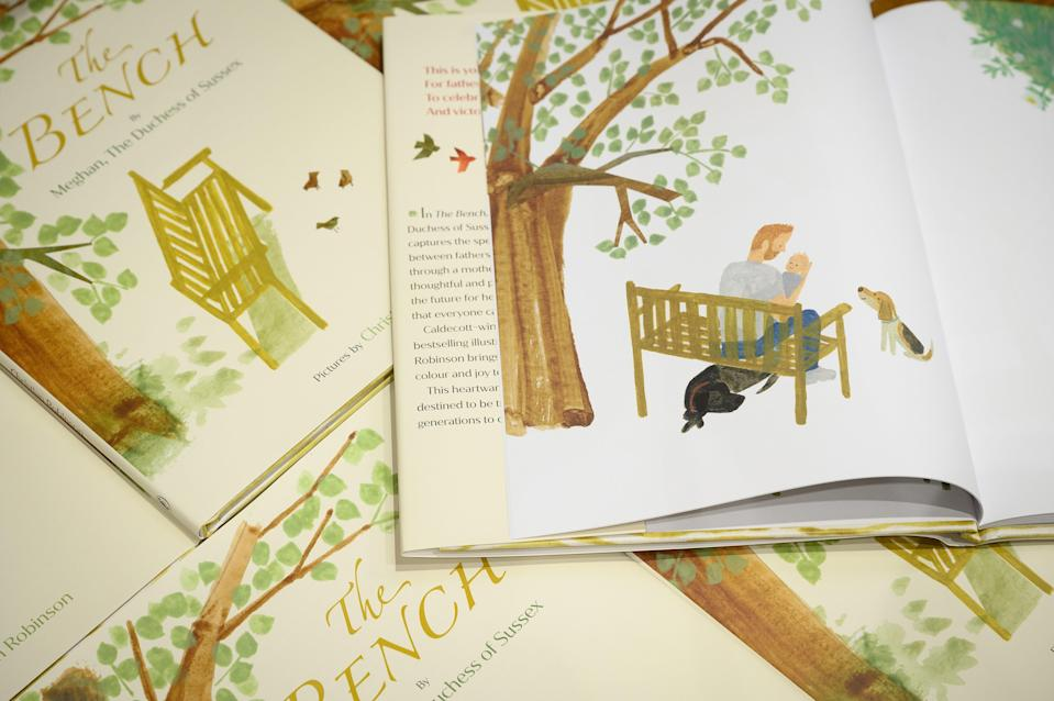 The Bench is a new children's book by Meghan Markle (Getty Images)