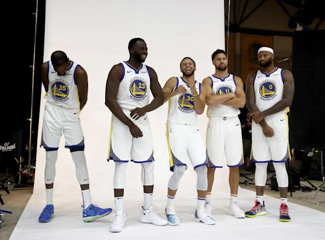 The Golden State Warriors are probably laughing at this headline right now. (Getty Images)