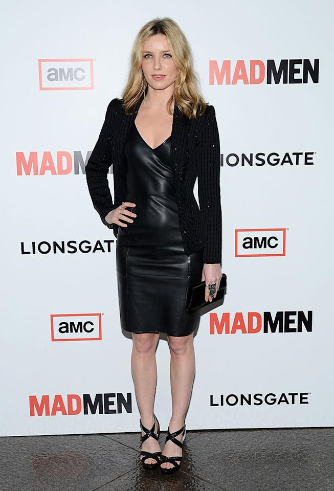 "Annabelle Wallis arrives at the Premiere of AMC's ""Mad Men"" Season 6 at DGA Theater on March 20, 2013 in Los Angeles, California."