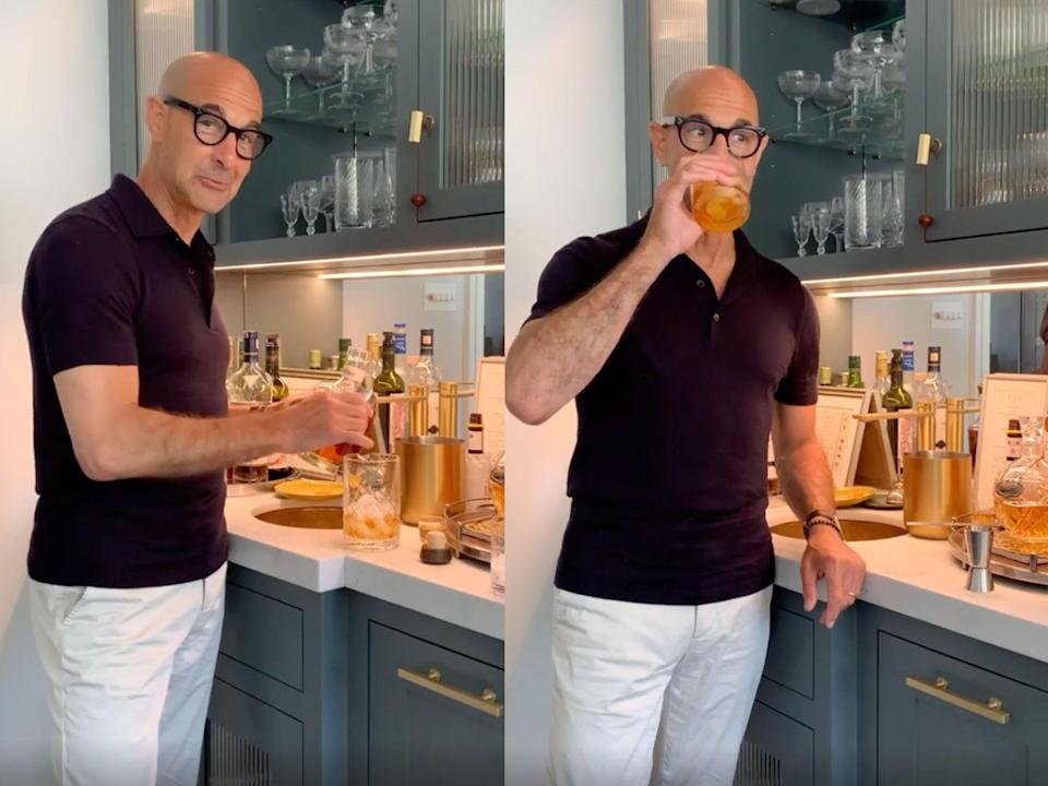 Stanley Tucci cocktail