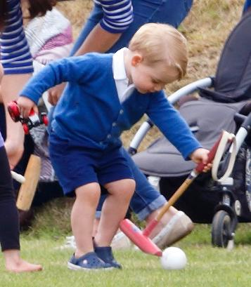 TETBURY, UNITED KINGDOM - JUNE 14: (EMBARGOED FOR PUBLICATION IN UK NEWSPAPERS UNTIL 48 HOURS AFTER CREATE DATE AND TIME) Prince George of Cambridge attends the Gigaset Charity Polo Match at the Beaufort Polo Club on June 14, 2015 in Tetbury, England. (Photo by Max Mumby/Indigo/Getty Images)