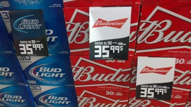 Beer in Quebec can be 50 cents cheaper per can than in New Brunswick. It's enough for hundreds of locals to justify regular trips across the border. (Shane Fowler/CBC - image credit)