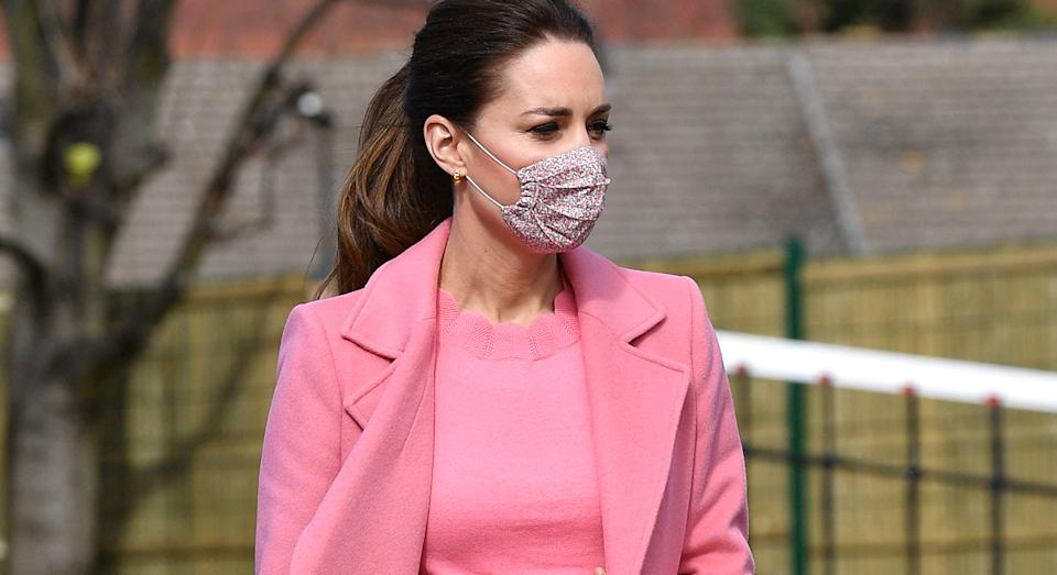 Boden has expanded its scallop range the Duchess of Cambridge has previously worn.  (Getty Images)