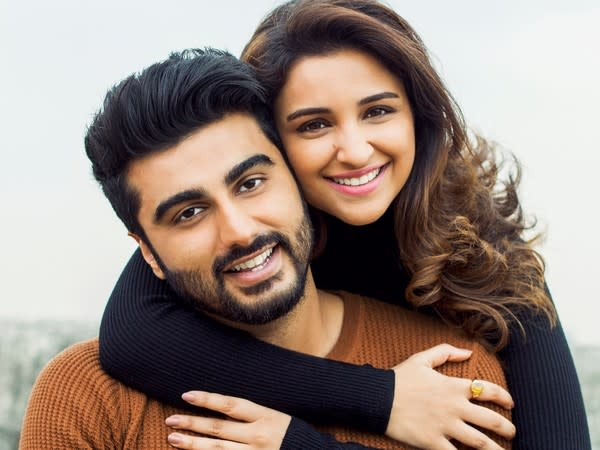 Bollywood actors Parineeti Chopra and Arjun Kapoor