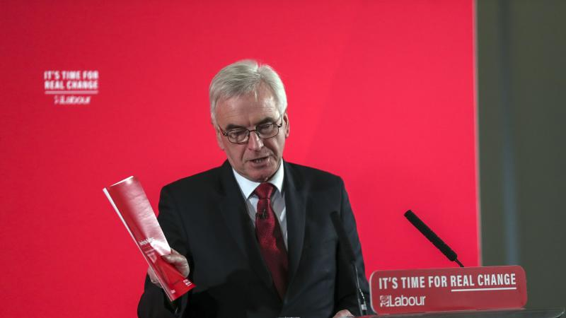 John McDonnell says he will not remain neutral in any second EU referendum
