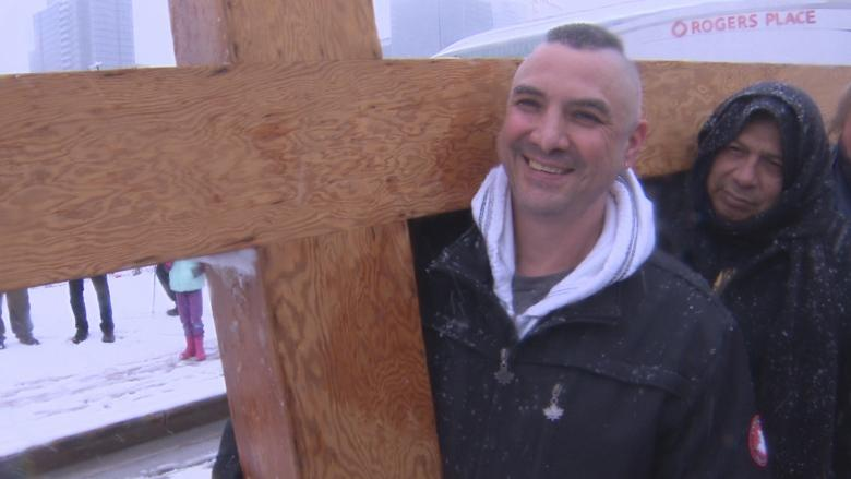 Way of the Cross marchers seek out city's most vulnerable