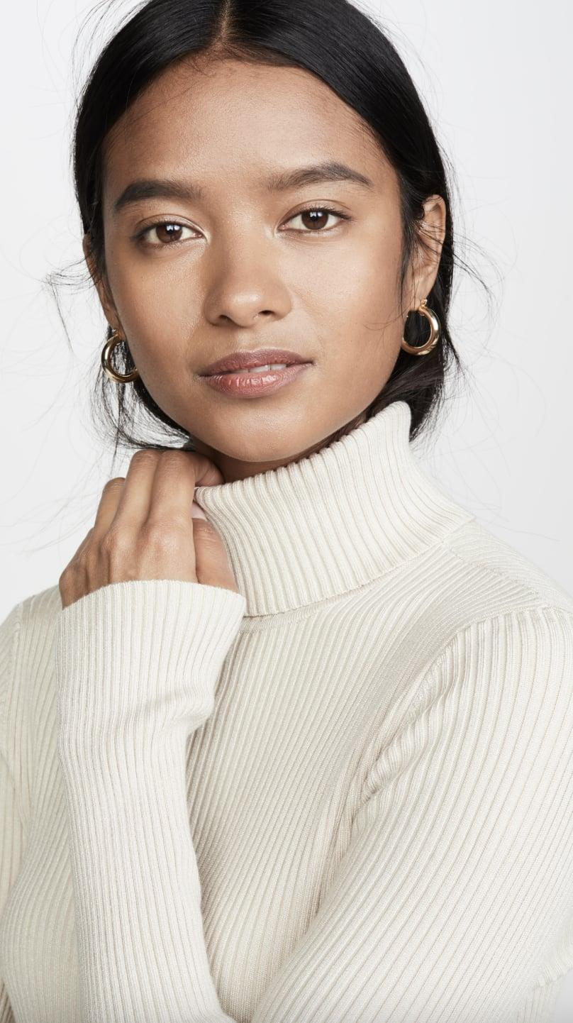 <p>This<span>525 Ribbed Turtleneck Sweater </span> ($39, originally $78) will go with every bottom in your closet.</p>