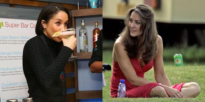 <p>After marrying Prince Harry in 2018, Meghan Markle has joined the ranks of commoners who have married into royal families. Here are 61 pictures of royal spouses before they tied the knot. </p>
