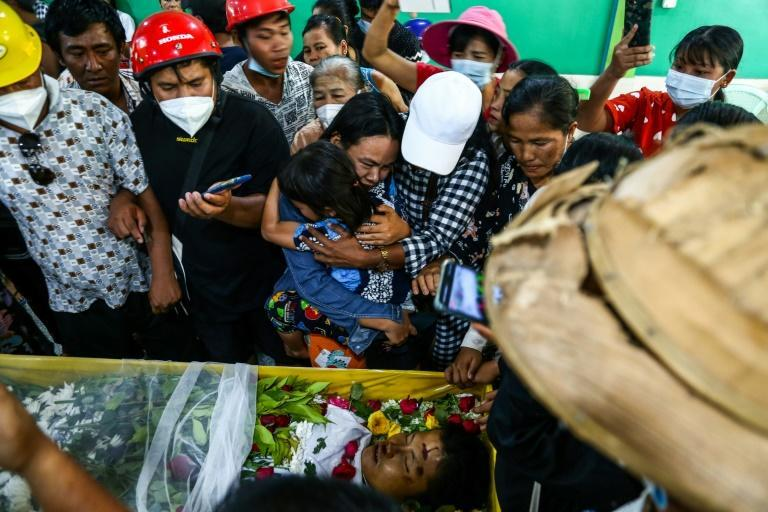 The death toll from Myanmar's protests is at least 55, according to the United Nations