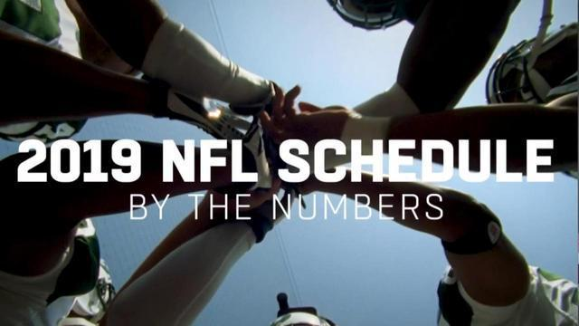Watch to learn key numbers behind the 2019 NFL schedule.