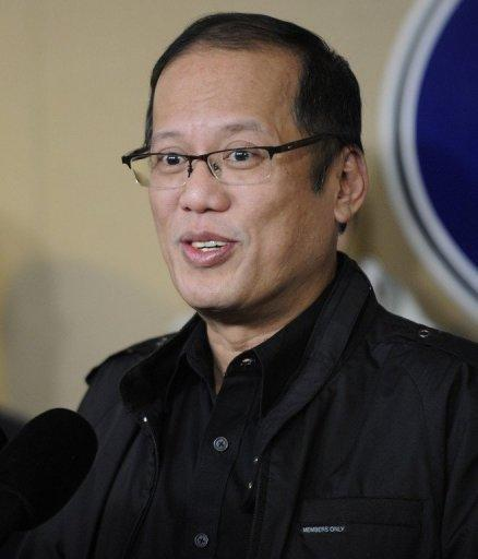 Philippine President Benigno Aquino gives a press briefing at the presidential palace on January 8. The historic impeachment trial of the Philippines' top judge has begun in one of Aquino's boldest yet most divisive moves to tackle pervasive corruption