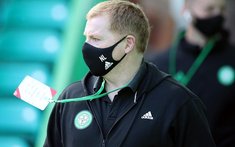 Neil Lennon: Scottish clubs are standing on a precipice - GETTY IMAGES