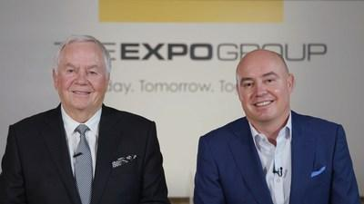 Founder, Chairman and CEO of The Expo Group Ray Pekowski and President and COO Randy Pekowski announce the acquisition of Allied Convention Services.