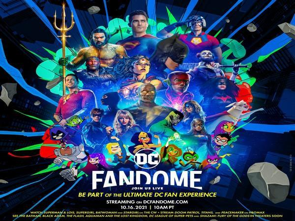 Poster of DC FanDome 2021 event (Image Source: Instagram)
