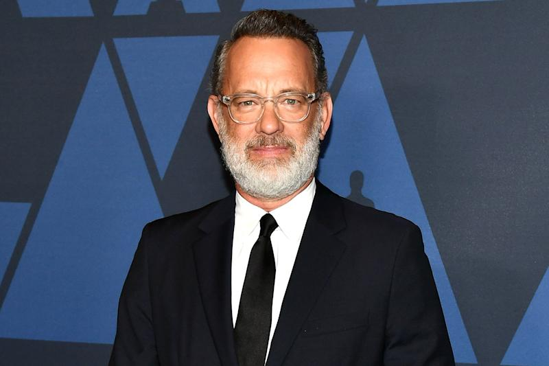 Tom Hanks Says He's 'Gonna Start Crying' While Reading 'Nice Tweets' About Kindness