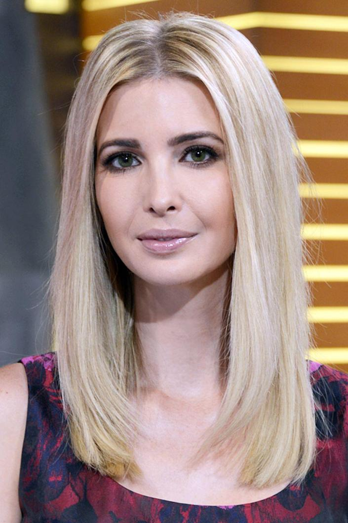 <p>Ivanka's pale blonde hair has helped make her one of the most instantly recognizable people in Washington.</p>