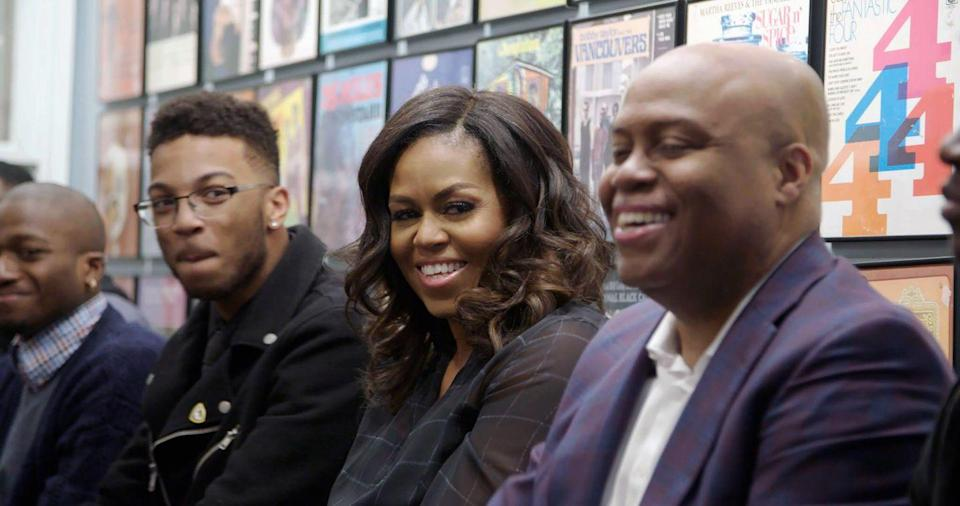 "<p>This exclusive documentary follows former first lady Michelle Obama on her sold out book tour <em>Becoming</em>, inspired by her best-selling memoir. Not only does it bring the words of her inspiring story to life, but we also get a few cameos from <a href=""https://www.oprahmag.com/entertainment/tv-movies/a32347191/michelle-barack-obama-marriage-timeline/"" rel=""nofollow noopener"" target=""_blank"" data-ylk=""slk:her hubby President Barack Obama"" class=""link rapid-noclick-resp"">her hubby President Barack Obama</a> and <a href=""https://www.oprahmag.com/entertainment/books/a32362642/malia-and-sasha-obama-netflix-becoming/"" rel=""nofollow noopener"" target=""_blank"" data-ylk=""slk:daughters Malia and Sasha"" class=""link rapid-noclick-resp"">daughters Malia and Sasha</a>.</p><p><a class=""link rapid-noclick-resp"" href=""https://www.netflix.com/title/81122487"" rel=""nofollow noopener"" target=""_blank"" data-ylk=""slk:Watch Now"">Watch Now</a></p>"