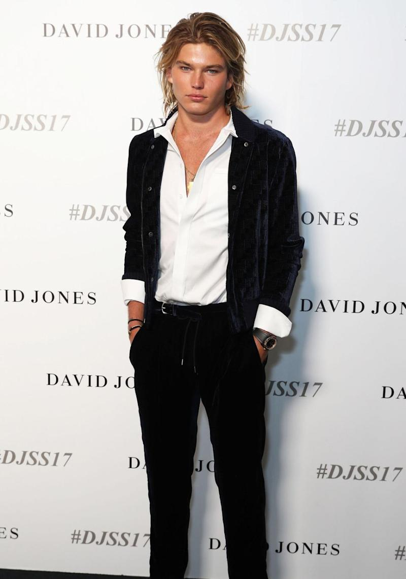 He's the hunky Aussie model who counts the likes of Paris Hilton and Kate Moss amongst his inner circle of friends, and now Jordan Barrett has lifted the lid on pal Jasmine Yarbrough's romance with Karl Stefanovic. Source: Getty