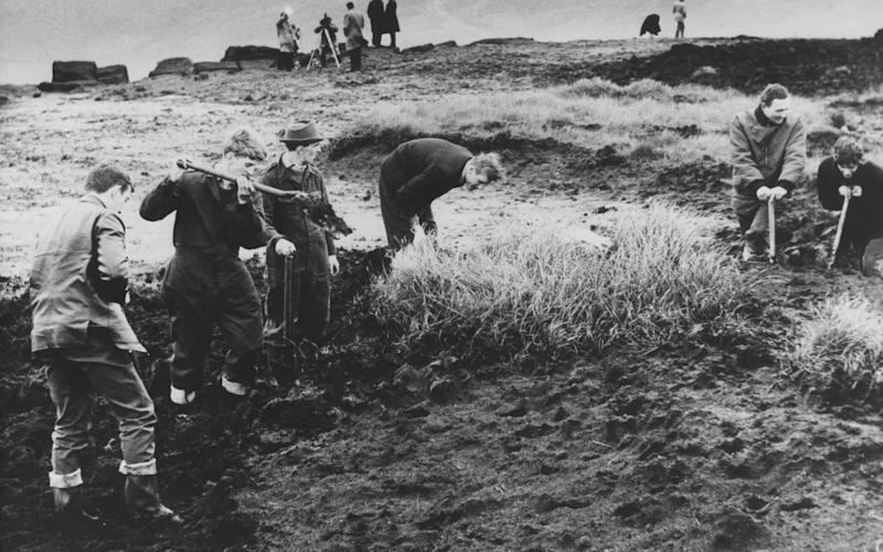 Brady and Hindley buried four bodies on Saddlewotrh Moor, one has never been found - Credit: Paul Popper