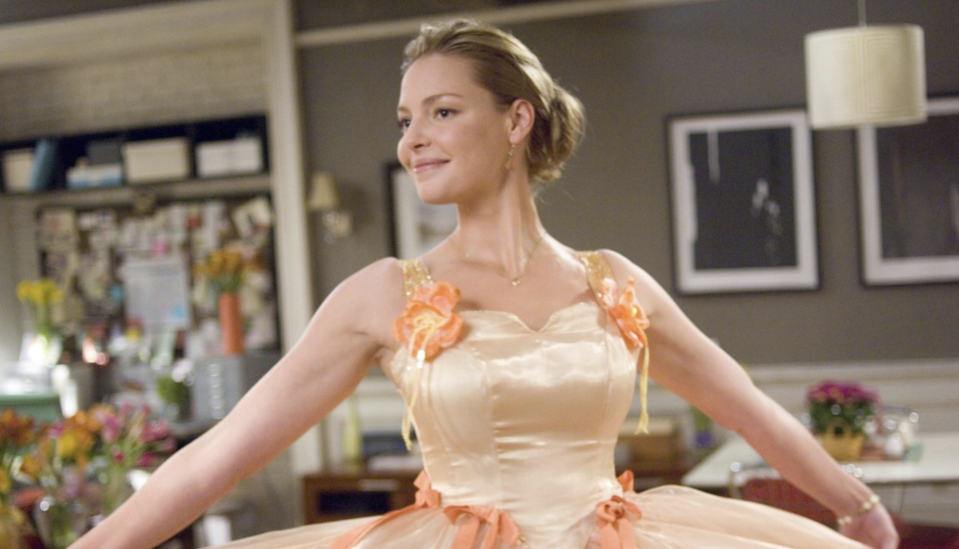 Katherine Heigl in a still from 27 Dresses. (20th Century Fox)