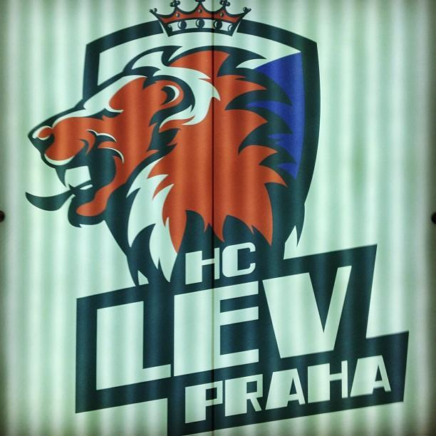 KHL's Prague Lions logo. (#NickInEurope)