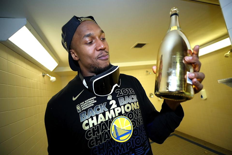 David West was a member of the Golden State Warriors for their last two championship runs. (Getty Images)