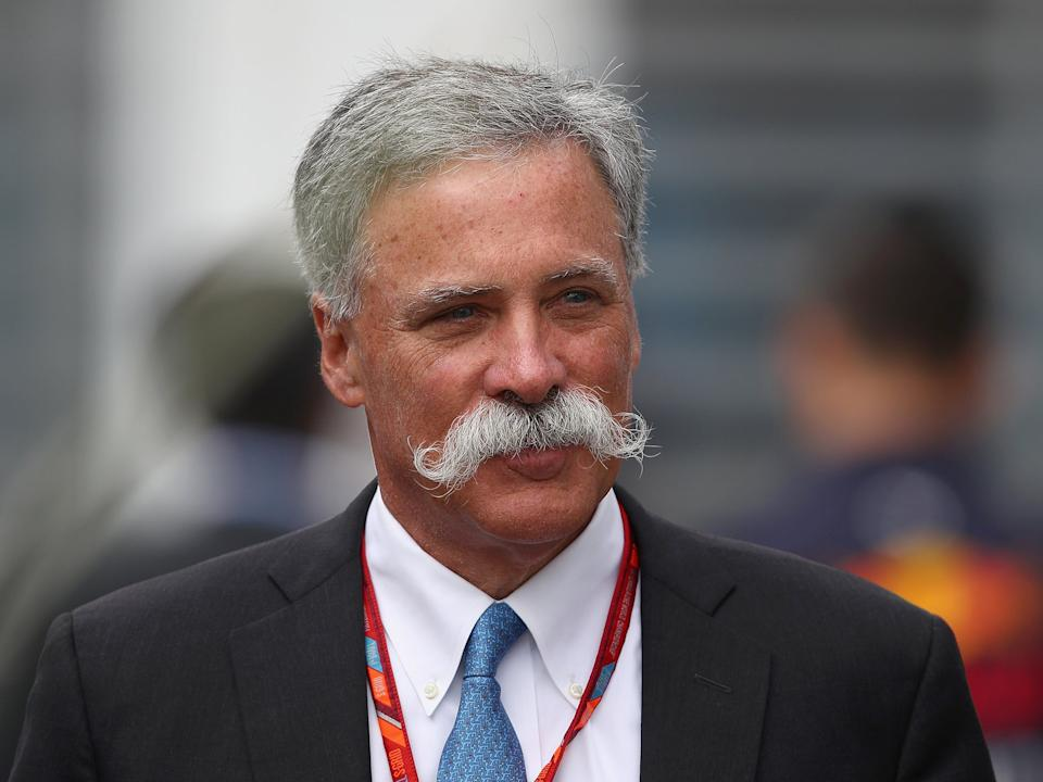 <p>F1 chief executive Chase Carey received the letter from MPs this week</p>Getty