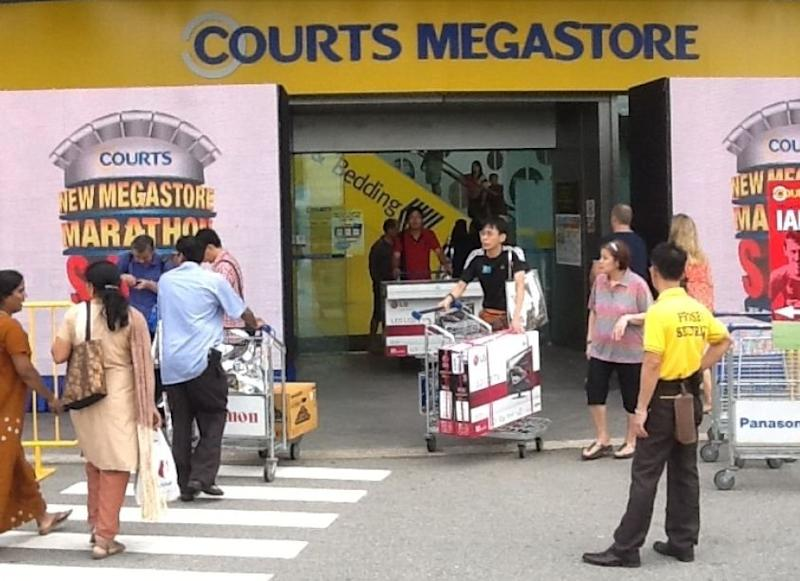 Courts Asia shocks peers with 6 revolutionary store features