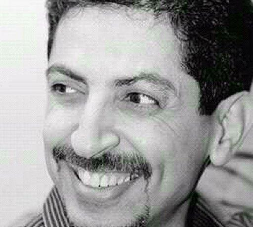 Bahraini activist Abdulhadi al-Khawaja shown in an undated photo posted by his daughter on Twitter. The Shiite activist, facing a life sentence on charges of seeking to overthrow Bahrain's Sunni rulers, will on Monday end a hunger strike that lasted 110 days, his lawyer said