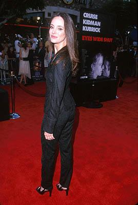 """Premiere: <a href=""""/movie/contributor/1800016672"""">Madeleine Stowe</a> at the LA premiere for <a href=""""/movie/1800018938/info"""">Eyes Wide Shut</a><br><center><font size=-1>Photo by <a href=""""http://www.wireimage.com"""">Jeff Vespa/Wireimage.com</a></font></center>"""