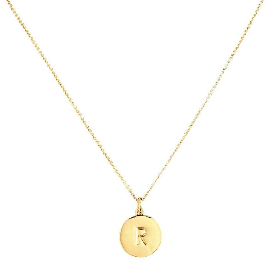 """<p><strong>KATE SPADE NEW YORK</strong></p><p>nordstrom.com</p><p><strong>$58.00</strong></p><p><a href=""""https://go.redirectingat.com?id=74968X1596630&url=https%3A%2F%2Fwww.nordstrom.com%2Fs%2Fkate-spade-new-york-one-in-a-million-initial-pendant-necklace%2F3628637&sref=https%3A%2F%2Fwww.bestproducts.com%2Flifestyle%2Fg27420749%2Fengraved-gifts%2F"""" rel=""""nofollow noopener"""" target=""""_blank"""" data-ylk=""""slk:Shop Now"""" class=""""link rapid-noclick-resp"""">Shop Now</a></p><p>You know how special she really is, but make sure she does, too — with a seemingly simply initial necklace that has a surprise on the other side. </p><p>Flip over its gold-plated pendant to find a sweet engraved massage that reads """"one in a million"""" to reassure <a href=""""https://www.bestproducts.com/beauty/g120/gifts-for-girlfriend/"""" rel=""""nofollow noopener"""" target=""""_blank"""" data-ylk=""""slk:your sweetheart"""" class=""""link rapid-noclick-resp"""">your sweetheart</a> that there's truly no one else like her.</p>"""