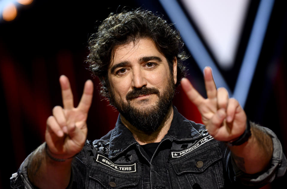 MADRID, SPAIN - JANUARY 29: Spanish singer Antonio Orozco attends 'La Voz' Photocall In Madrid on January 29, 2020 in Madrid, Spain. (Photo by Samuel de Roman/Getty Images)