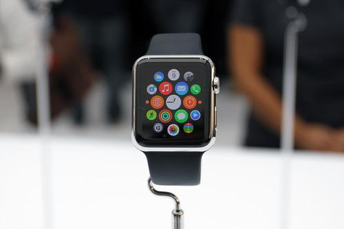 Apple Watch displaying its home screen
