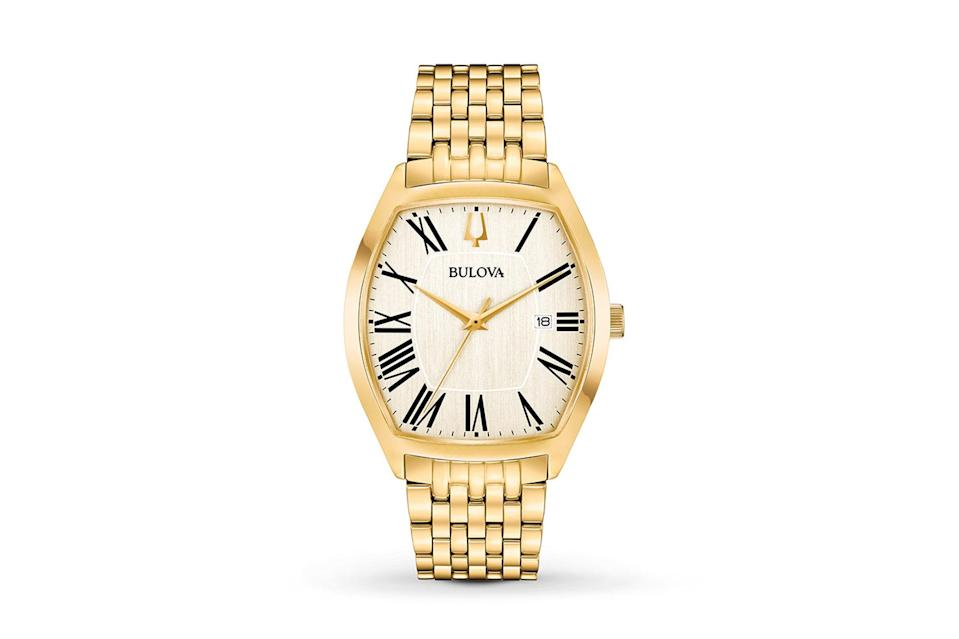 """The oversize-timepiece trend might be coming to an end—and so is having to drop thousands on an of-the-moment watch. $160, Amazon. <a href=""""https://www.amazon.com/dp/B079C66JLF/ref=sr_1_fkmrnull_1?slotNum=1&linkCode=g12&imprToken=mYNgKackG5s4X.8KpsQLdQ&creativeASIN=B079C66JLF&tag=gqgensqua-20&ascsubtag=5c62ea5396910f63bc552b09%7C"""" rel=""""nofollow noopener"""" target=""""_blank"""" data-ylk=""""slk:Get it now!"""" class=""""link rapid-noclick-resp"""">Get it now!</a>"""
