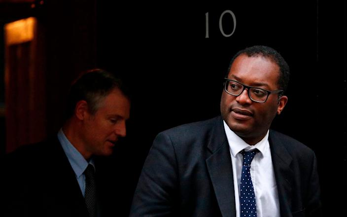 Kwasi Kwarteng was made Business Secretary in January of this year - AFP