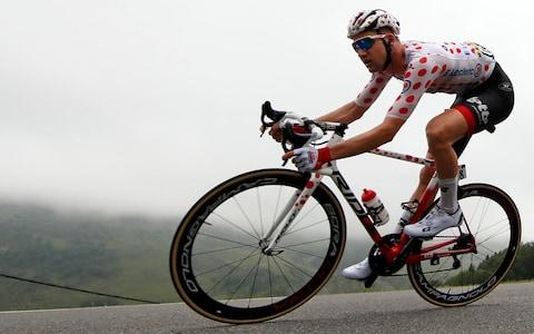 <span>Tim Wellens is riding an aggressive race</span> <span>Credit: REUTERS </span>