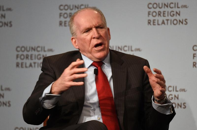 CIA Director John Brennan (pictured) says the Russians have in sight a political transition in Syria where President Bashar al-Assad would eventually step down (AFP Photo/Don Emmert)