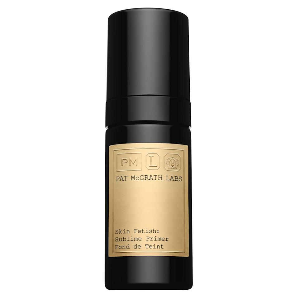 "<p>Pat McGrath just blessed us with three brand-new makeup launches for summer and they're all stunners. First up is a primer that smoothes, hydrates, and gives skin a silky effect that helps with moisture loss. Not sold? It's infused with hyaluronic acid, a moisture magnet that helps hydrate skin. The finish is also matte so it's perfect for these hot August days to come.</p> <p>$60 (<a href=""https://www.sephora.com/product/skin-fetish-sublime-perfecting-primer-P447764"" rel=""nofollow"">Shop Now</a>)</p>"