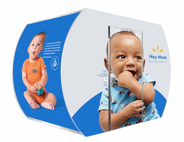 PHOTO: A Mamava breastfeeding pod is available for use at a Walmart store. Walmart plans to expand the number of Mamava breastfeeding pods in its U.S. stores. (Courtesy Walmart)