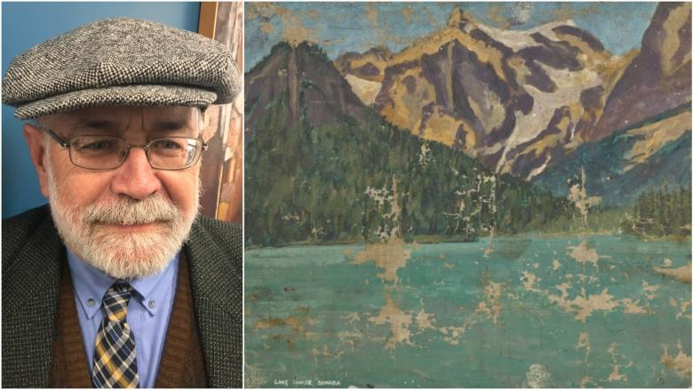 'Not Lake Louise': Winston Churchill's mislabelled painting of Emerald Lake heads for auction