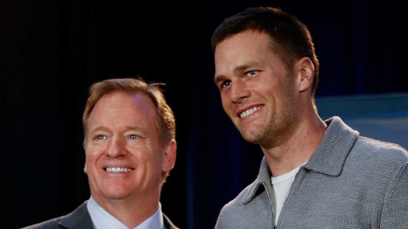 National Football League says 'no records' show that Tom Brady had a concussion