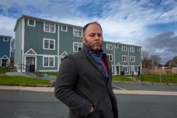 Community organizers, including Doug Pawson, executive director of End Homelessness St. John's, proposed a basic income program in Newfoundland and Labrador this week. (Paul Daly/The Canadian Press - image credit)