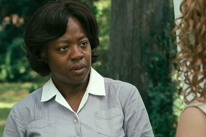 Davis says The Help was made in the 'cesspool of systemic racism' (Walt Disney Pictures)