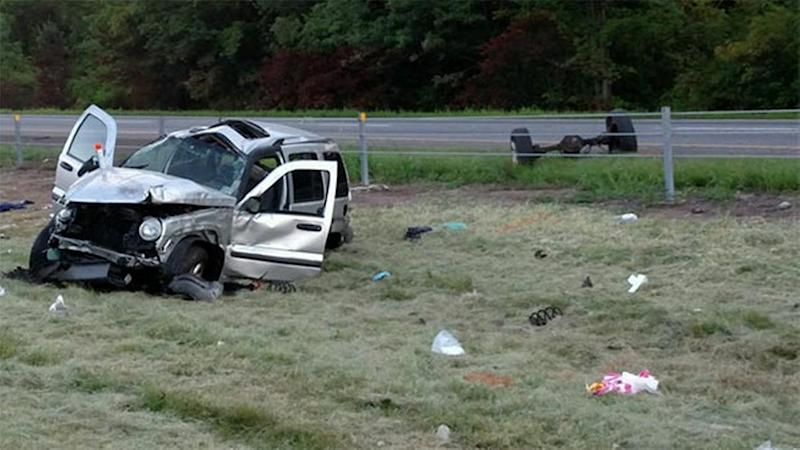 Victims in deadly crash on I-95 North in Bucks County identified