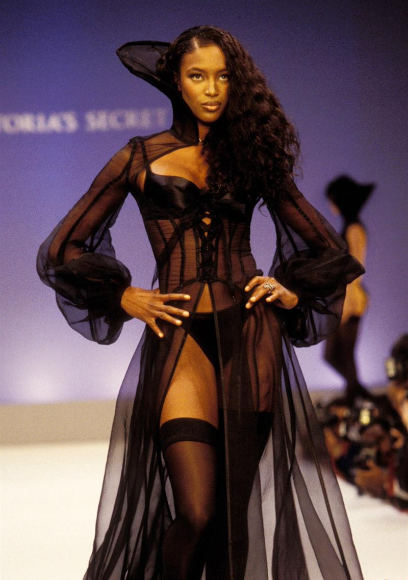Naomi Campbell at the 1997 Victoria's Secret Spring Revelations Fashion Show in New York.